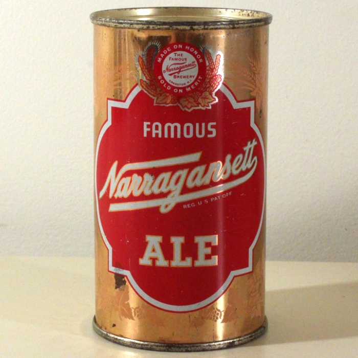 Narragansett Ale 101-19 Beer