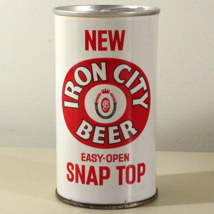 Iron City Beer Easy-Open Snap Top 078-29 Beer