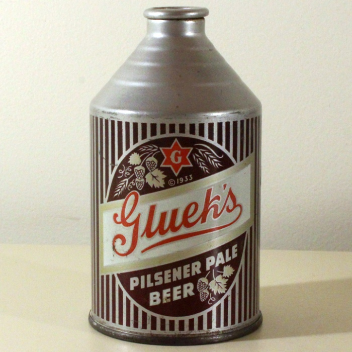 Gluek's Pilsener Pale Beer 194-26 Beer