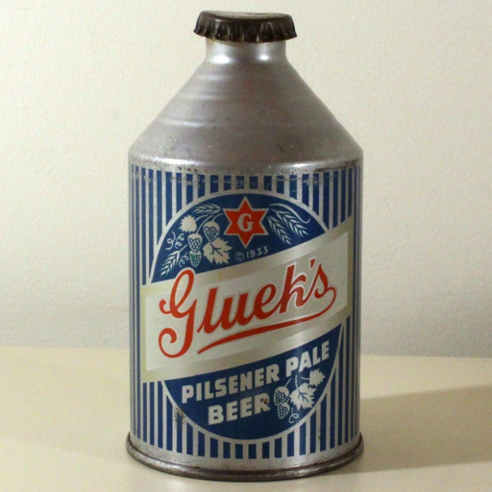 Gluek's Pilsener Pale Beer 194-23 Beer