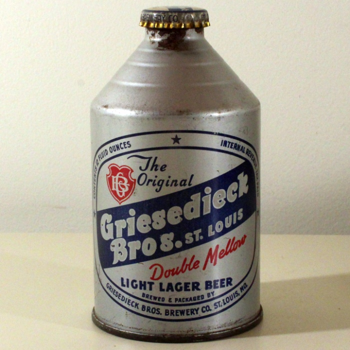 Griesedieck Bros. Double Mellow Light Lager Beer 195-04 Beer
