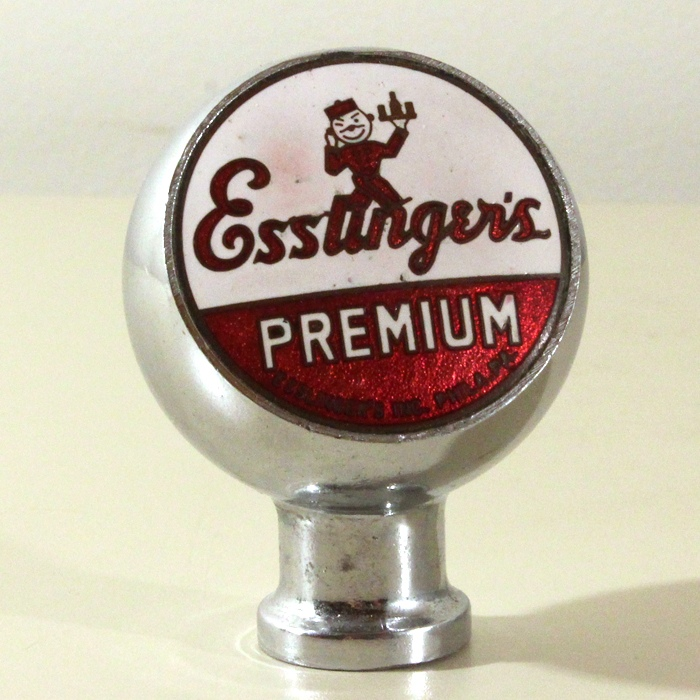 Esslinger's Premium Beer Chrome Ball Beer
