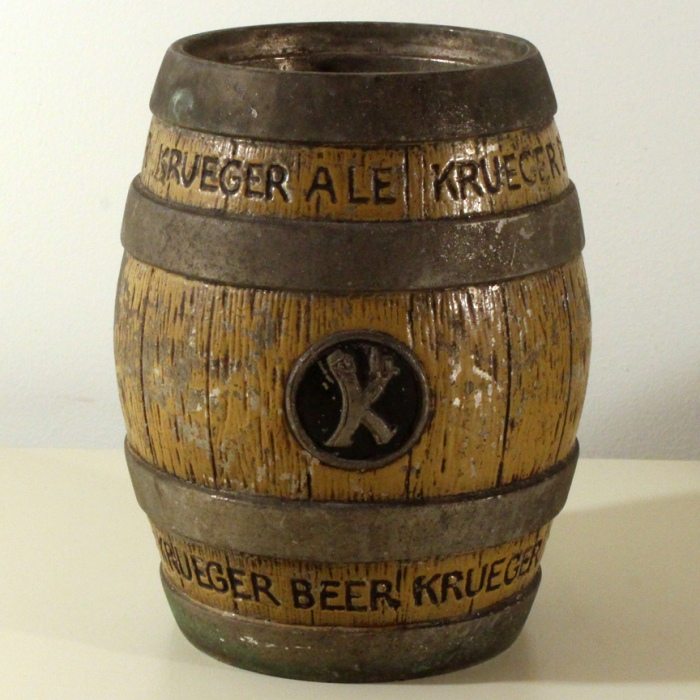 Krueger Ale & Beer Barrel Foam Scraper Holder Beer