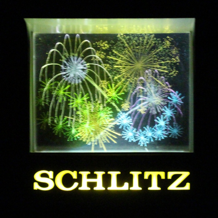 Schlitz Beer Fireworks Motion Light Beer