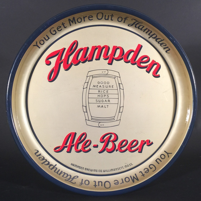 Hampden Ale Beer Barrel Beer