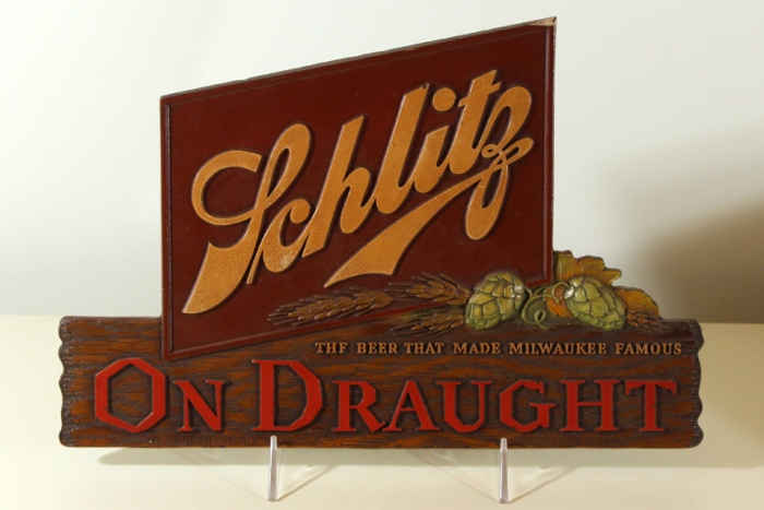 Schlitz On Draught Composite Beer