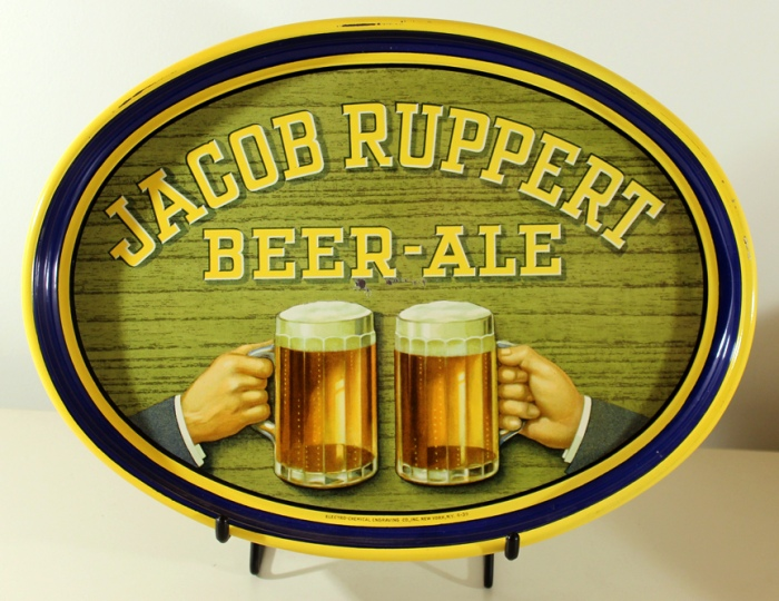 Jacob Ruppert Beer - Ale Oval Beer