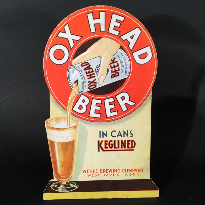 Ox Head Beer Diecut Beer
