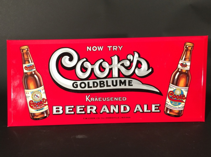 Cook's Goldblume Kraeusened Bottles TOC Beer