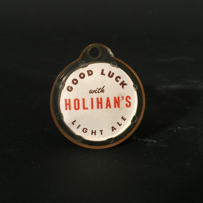 Holihan's Light Ale Good Luck 4 Leaf Clover Charm Beer