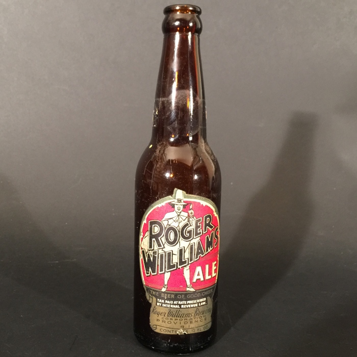 Roger Williams Ale Diecut Beer