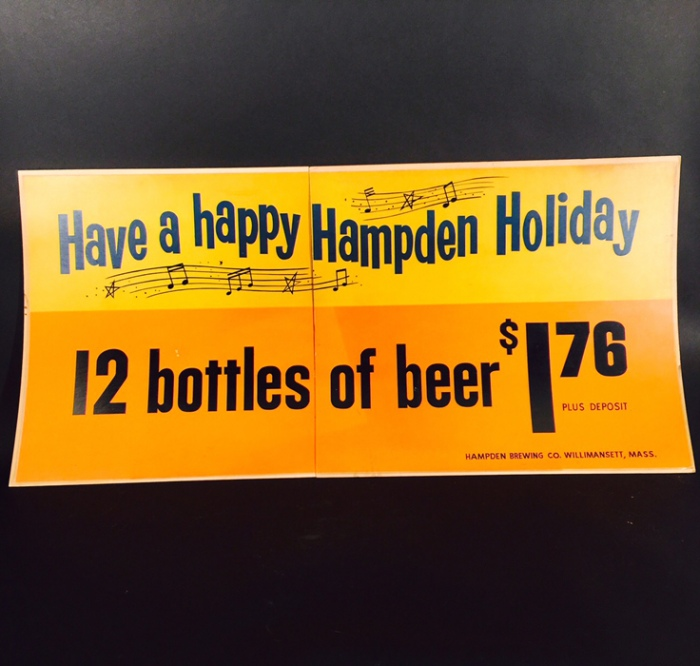 Hampden Holiday Music Sign Beer