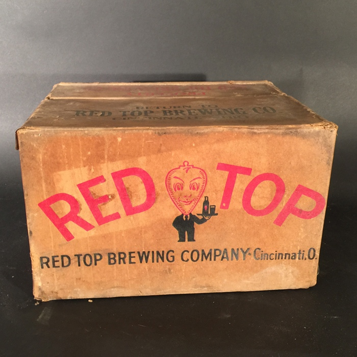 Red Top Box Beer