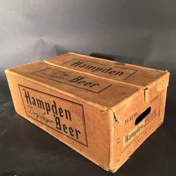 Hampden Dry Lager Steinie Box Beer
