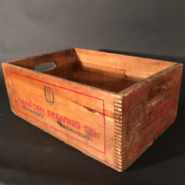 Hampden Barrel Steinie Crate Beer