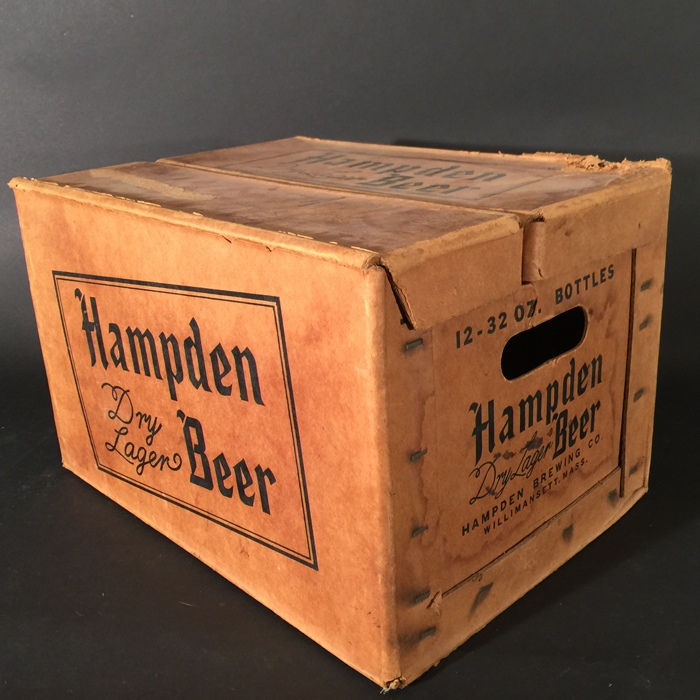 Hampden Dry Lager Quart Box Beer