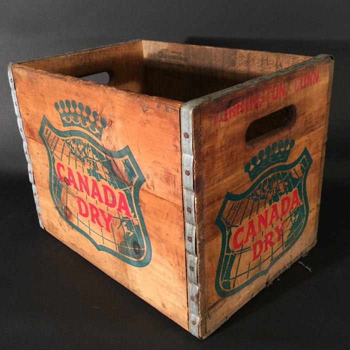 Canada Dry Crate Beer
