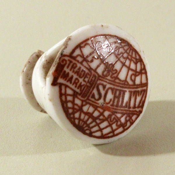 Schlitz Porcelain Stopper Beer