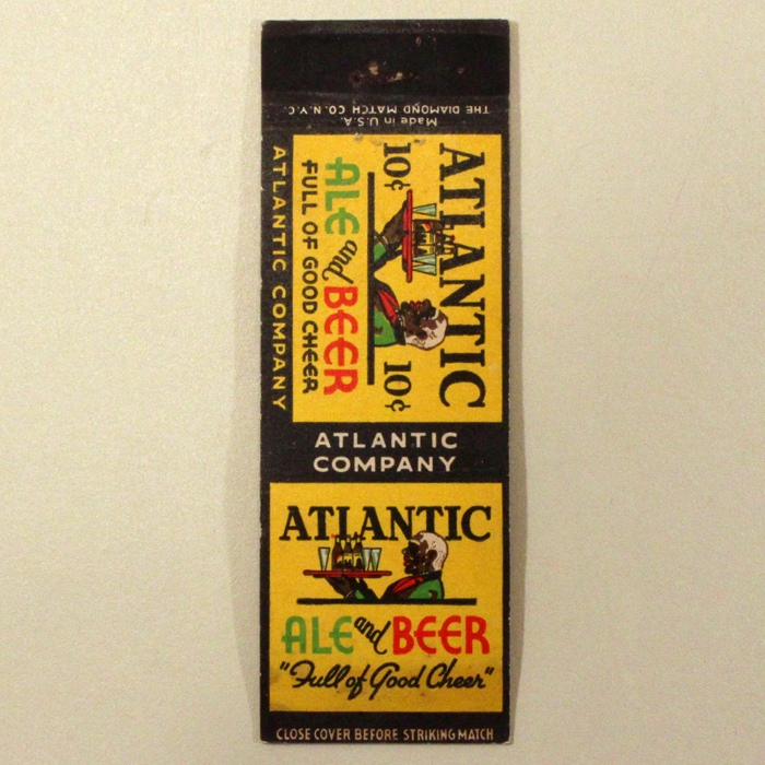 Atlantic Ale And Beer Match Cover Beer