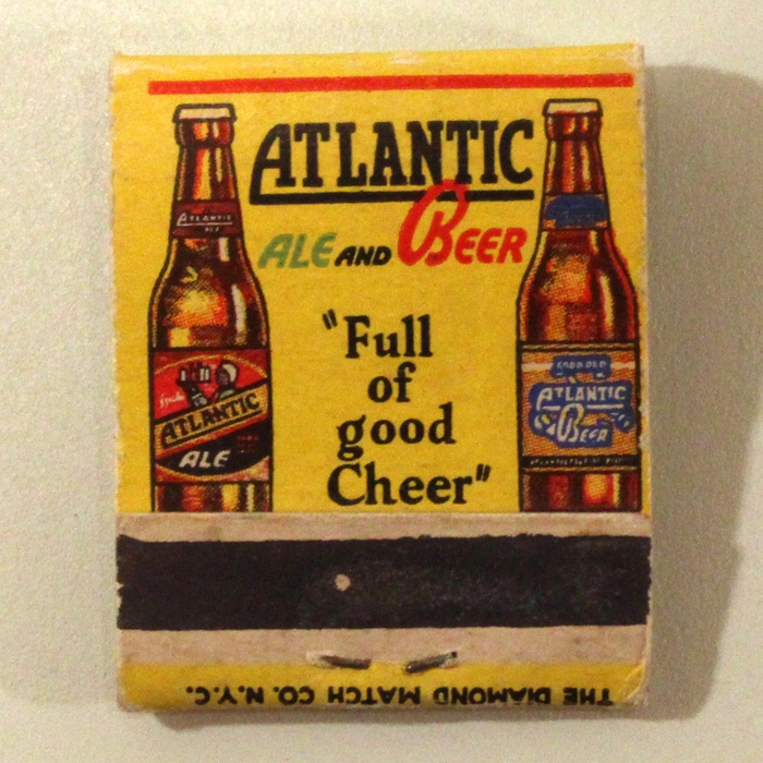 Atlantic Ale And Beer Full Of Good Cheer Match Cover Beer