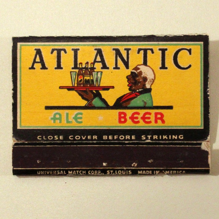 Atlantic Ale Beer Wide Match Cover Beer