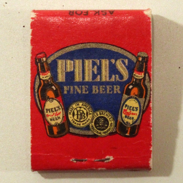 Piels Fine Beer Match Cover Beer
