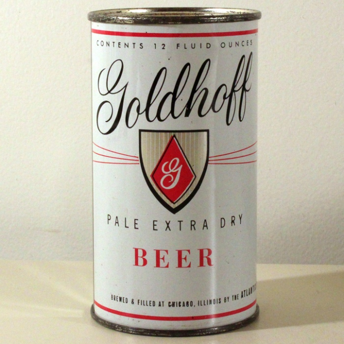 Goldhoff Pale Extra Dry Beer 071-39 Beer