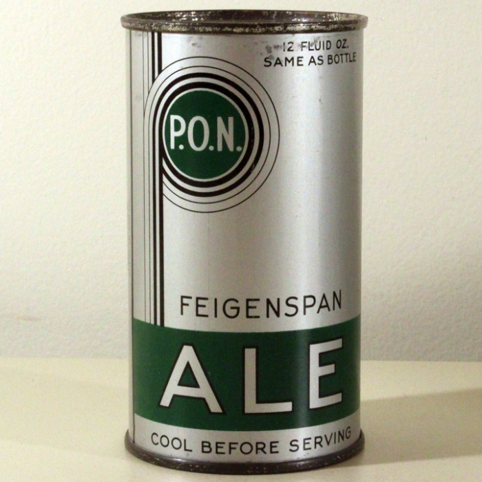 Feigenspan P.O.N. Ale Long Opener 260 Beer