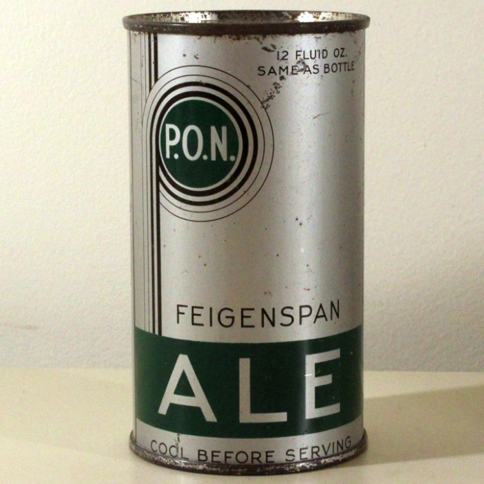 Feigenspan P.O.N. Ale Withdrawn Free Long Opener L262 Beer