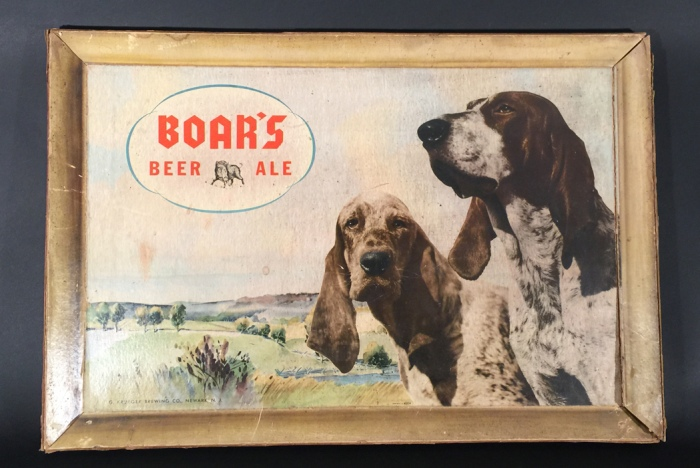 Boar's Beer Ale Hunting Dogs Beer