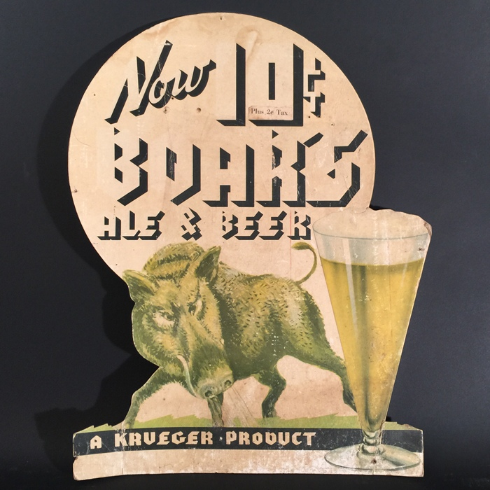 Boars Ale Beer 10 Cents Beer