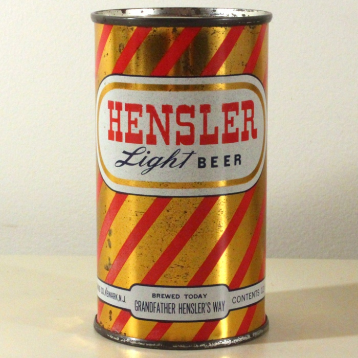 Hensler Light Beer 081-32 Beer