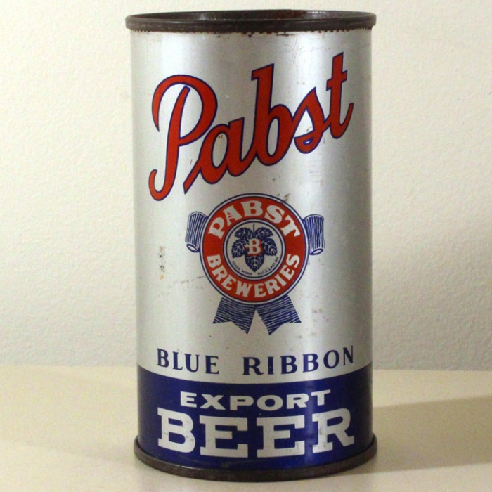 Pabst Blue Ribbon Export Beer 654 Beer
