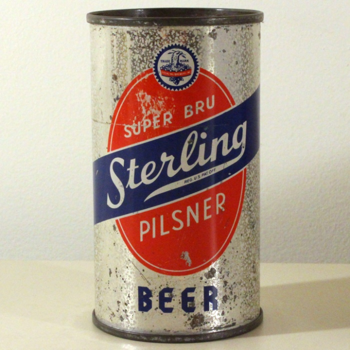 Sterling Pilsner Beer Super Bru 773 Beer
