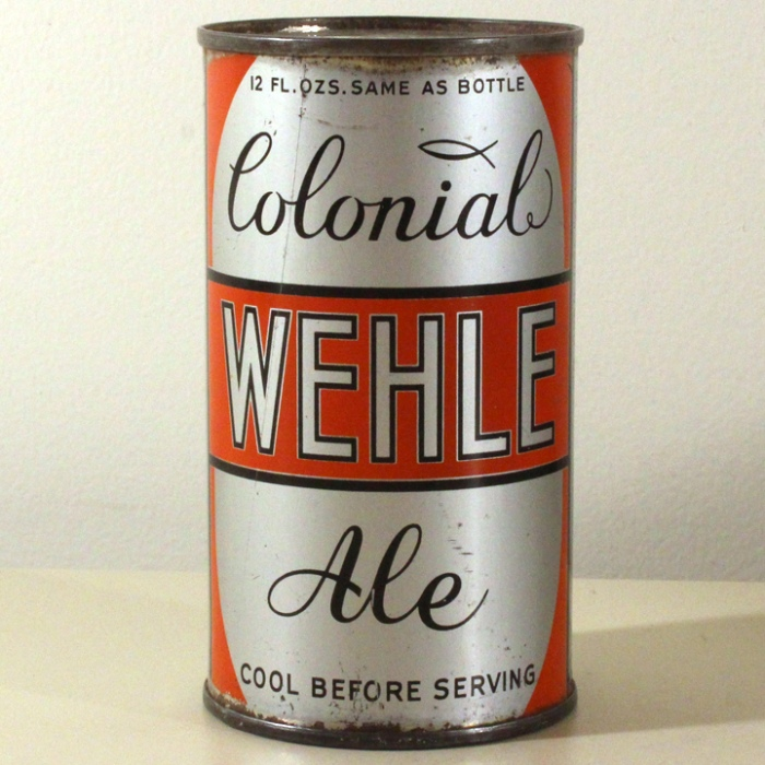 Wehle Colonial Ale Long Opener 862 Beer