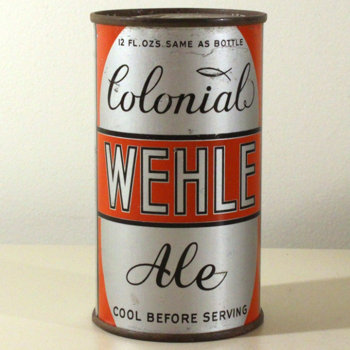 Wehle Colonial Ale Long Opener 861 Beer