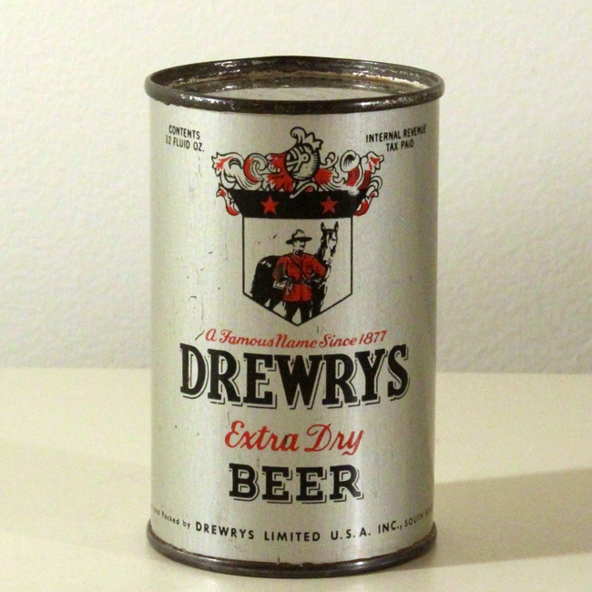 Drewrys Extra Dry Beer Mini Can Paper Weight Beer