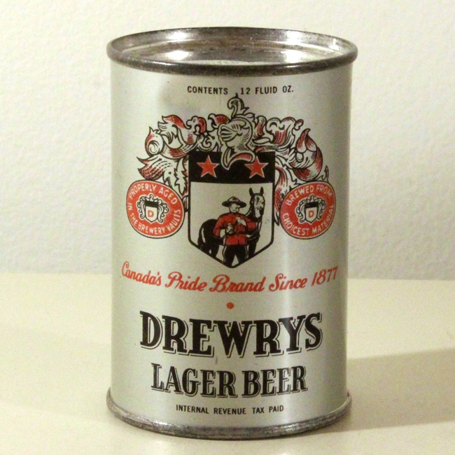 Drewrys Lager Beer Mini Can Paper Weight Beer