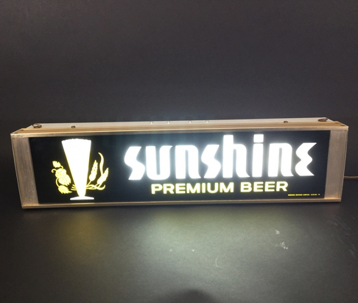 Sunshine Premium Beer Lamp Beer