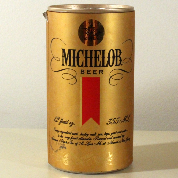 Michelob Beer (Foil Label Test Can) NL Beer