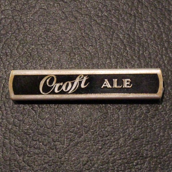 Croft Ale Slide Opener Beer