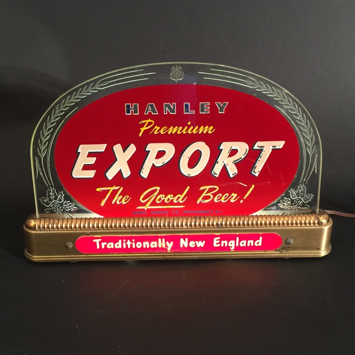 Hanley Export Traditionally New England Beer