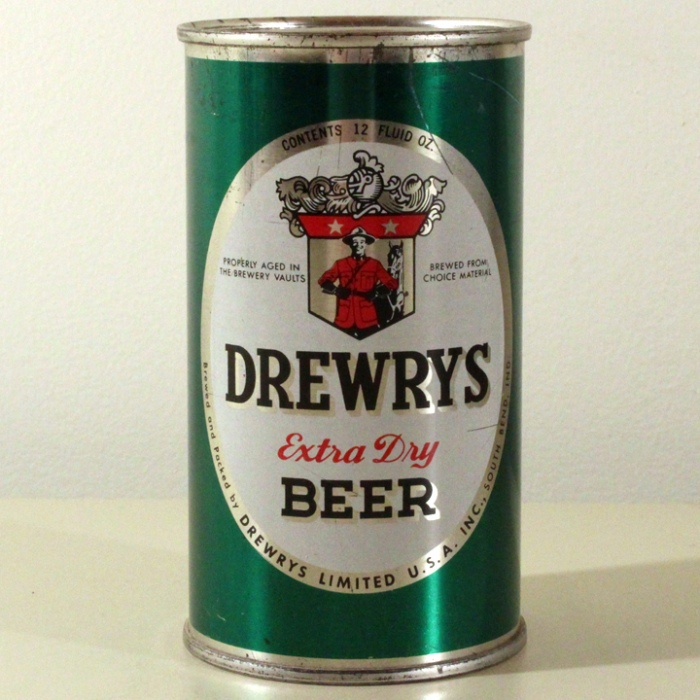 Drewrys Extra Dry Beer Green Sports 056-12 Beer