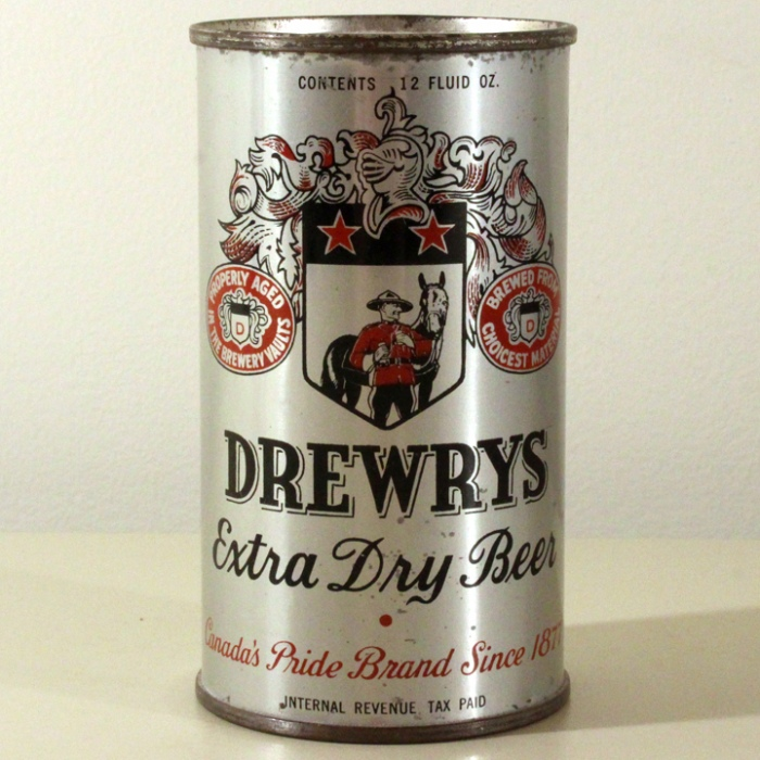 Drewrys Extra Dry Beer (Metallic) 055-34 Beer