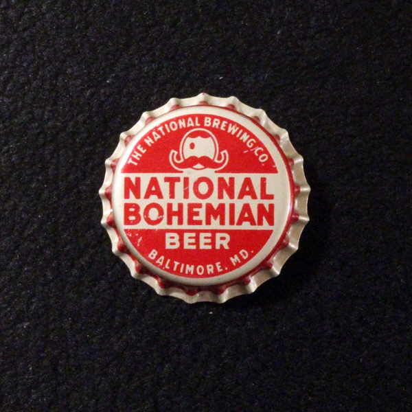 National Bohemian Beer Left Eye Beer