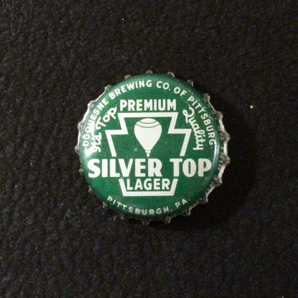 Silver Top Lager green PA Tax Beer
