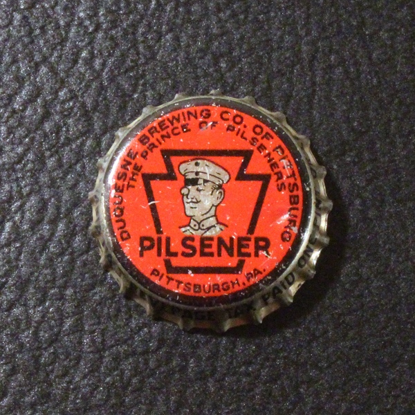 Duquesne Prince of Pilseners PA Tax Beer