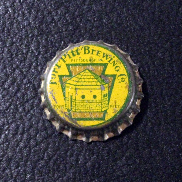 Fort Pitt Brewing Co Yellow PA Tax Beer