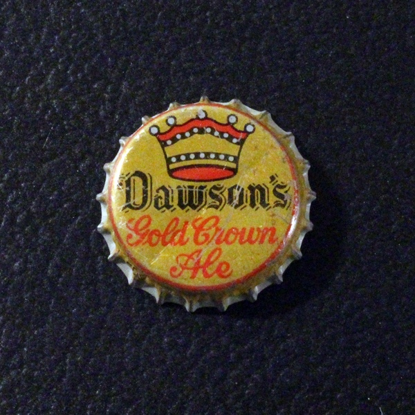 Dawson's Gold Crown Ale Mustard Yellow Beer