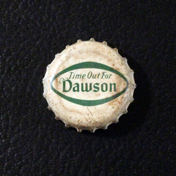 "Dawson Ale ""Time Out For Dawson"" Beer"